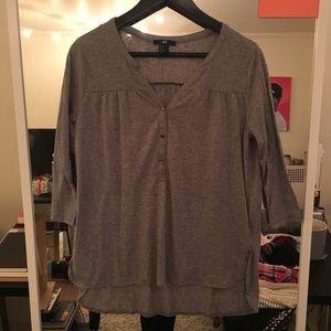 Long sleeve tee blouse